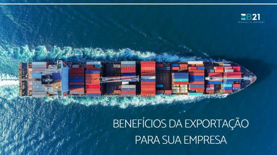 Benefícios da exportação para sua empresa