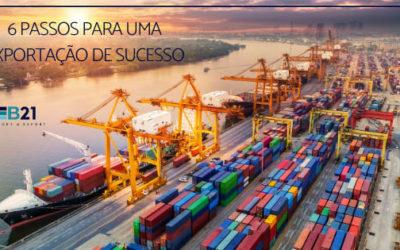 6 passos para uma exportação de sucesso